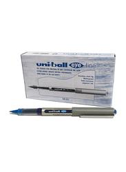 Uniball 12-Piece UB-157 Eye Fine Ballpoint Pen, 0.7mm, Blue