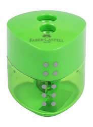 Faber-Castell Double Hole Grip Sharpener, Green