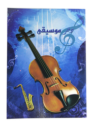 Sadaf A4 Size Music Book, 20 Sheets, Blue