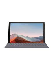 "Microsoft Surface Pro 7+ 2-in-1 Laptop, 12.3"" PixelSense Touch Display, Intel Core i7-1165G7 11th Gen 2.8 GHz, 256GB SSD, 16GB RAM, Intel Iris Xe Graphics, EN KB, Wi-Fi, Win10 Pro, 1NC-00021, Black"