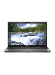 "DELL Latitude 5500 Laptop, 15.6"" FHD Display, Intel Core i7 8th Gen 1.8GHz, 512GB SSD, 8GB RAM, AMD Radeon 540X Graphics, EN KB, Win 10 Pro, Black"