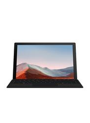 "Microsoft Surface Pro 7+ 2-in-1 Laptop, 12.3"" PixelSense FHD Touch Display, Intel Core i5 11th Gen 2.4GHz, 256GB SSD, 8GB RAM, Intel Iris Xe Graphics, EN KB, Wi-Fi, Win10 Pro, 1NA-00021, Black"