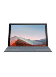 "Microsoft Surface Pro 7+ 2-in-1 Laptop, 12.3"" PixelSense FHD Touch Display, Intel Core i5 11th Gen 2.4GHz, 128GB SSD, 8GB RAM, Intel Iris Xe Graphics, EN KB, Wi-Fi, Win10 Pro, 1N9-00006, Platinum"