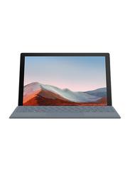 "Microsoft Surface Pro 7+ 2-in1 Laptop, 12.3"" PixelSense FHD Touch Display, Intel Core i3-1115G4 11th Gen, 128GB SSD, 8GB RAM, Intel UHD Graphics, EN KB, Wi-Fi, Win10 Pro, 1N8-00006, Platinum"