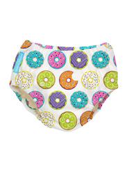 Charlie Banana Delicious Donuts Reusable Swim Diaper, Medium, 1 Count