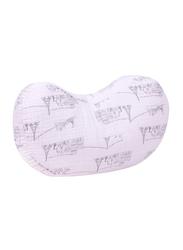 Bebe Au Lait Muslin Nursing Pillow, PBBMCP, Carousel Pink
