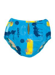 Charlie Banana 2-in-1 Malibu Training Pants Swim Diapers, XL, 12-25 kg, 1 Count