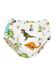 Charlie Banana Dinosaurs Reusable Swim Diaper, Medium, 1 Count