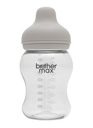 Brother Max PP Extra Wide Neck Feeding Bottle 240ml, Grey