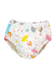Charlie Banana Diva Ballerina 2-in-1 Swim Diaper & Training Pants, Small, 1 Count