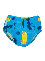 Charlie Banana Malibu Reusable Swim Diaper, Large, 1 Count