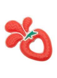 Brother Max Splash Teether, Strawberry, Red