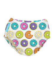 Charlie Banana Delicious Donuts Reusable Swim Diaper, Small, 1 Count