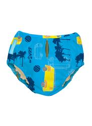 Charlie Banana Malibu Reusable Swim Diaper, Medium, 1 Count