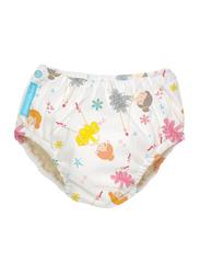 Charlie Banana 2-in-1 Ballerina Diva Training Pants Swim Diapers, M, 6.5-9 kg, 1 Count