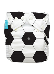Charlie Banana Inserts Diaper Soccer Hybrid AIO, 2 Count