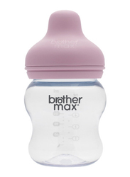 Brother Max PP Extra Wide Neck Baby Feeding Bottle 160ml, BM109p, Pink