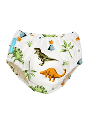 Charlie Banana Dinosaurs Reusable Swim Diaper, Large, 1 Count