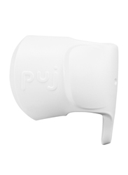 PUJ Snug Faucet Spout Cover, White