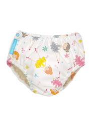Charlie Banana Diva Ballerina Reusable Swim Diaper, Medium, 1 Count