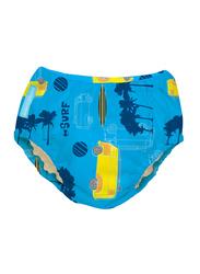 Charlie Banana 2-in-1 Malibu Training Pants Swim Diapers, M, 6.5-9 kg, 1 Count