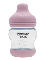 Brother Max + S teat PP Anti-Colic Baby Feeding Bottle 160ml, BM107P, Pink