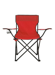 Y&D Camping Foldable Chair, 80 x 50 x 50cm, Red