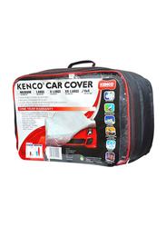 Kenco Premium Car Body Cover for Toyota Yaris Hatchback, Black