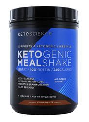 Ketoscience Ketogenic Meal Shake, 539gm, Natural Chocolate
