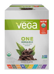 Vega One Organic All-in-one Shake Protein Powder, 42g x 10 Servings, 417g, Chocolate