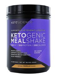 Ketoscience Ketogenic Meal Shake, 532gm, Natural Vanilla