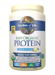 Garden of Life Raw Organic Protein Powder, 624gm, Vanilla