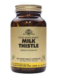 Solgar Fp Milk Thistle Food Supplement, 100 Vegetable Capsules