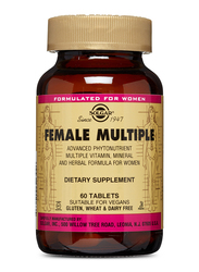 Solgar Female Multiple Dietary Supplement, 60 Tablets