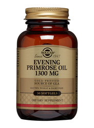 Solgar Evening Primrose Oil Dietary Supplement, 1300mg, 30 Softgels