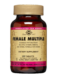 Solgar Female Multiple Dietary Supplement, 120 Tablets