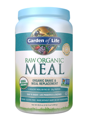 Garden of Life Raw Organic Meal Shake & Meal Replacement, 1038gm, Lightly Sweet