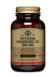 Solgar Evening Primrose Oil Dietary Supplement, 500mg, 90 Softgels