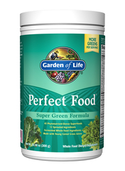 Garden of Life Perfect Food Super Green Formula Whole Food Dietary Supplement, 300gm
