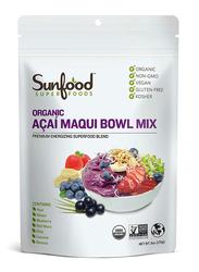 Sunfood Superfoods Organic Acai Maqui Bowl Mix, 170g, Acai Berry