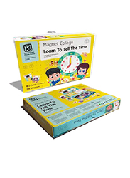 8-Piece Set Magnetic Timetable Puzzle