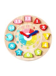 15-Piece Set Clock 3D Bead Game Puzzle