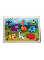 8-Piece Set Animal Puzzle Board