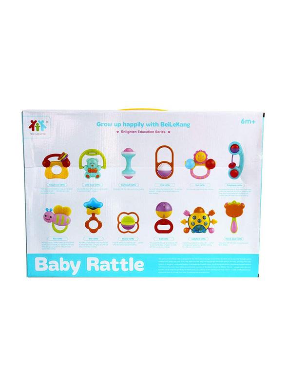 12-Piece Baby Rattle Set