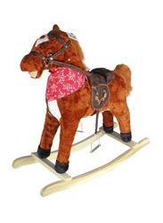 Rocking Horse Toy, Dark Brown, Ages 3+