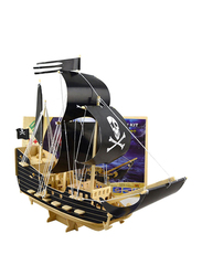 Pirate Boat Assembly 3D Puzzle