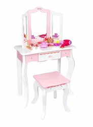 Dressing Table with Pink Accessories, 14 Pieces, Ages 3+