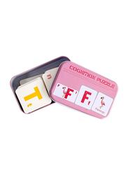 54-Piece Set Cognitive Puzzle, Pink