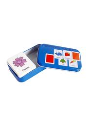 30-Piece Set Cognitive Puzzle, Navy Blue