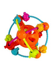 Baby Toys Teether Ball with Bells, Multicolor